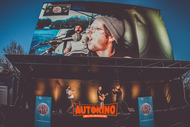 Car Comedy NightWash Live im Autokino Wilhelmshaven